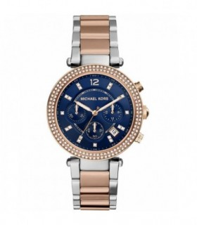 VOGUE Feeling Chronograph Blue Rubber Strap 17001.5
