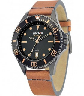 CITIZEN Eco-Drive Radio Controlled Black Rubber Strap CB0021-06E
