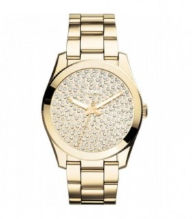 Michael KORS Brecken Gold Stainless Steel Bracelet MK6366