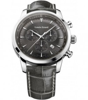 Emporio ARMANI Black Leather Strap AR6122