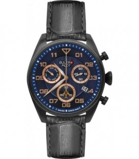 TW STEEL Dakar Special Edition Chronograph Brown Leather Strap TW975