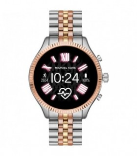 Michael KORS Access MKGO Pink Silicone Strap MKT5070