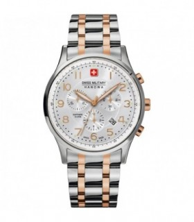 GUESS Crystal Gold Leather Chronograph W0017L2