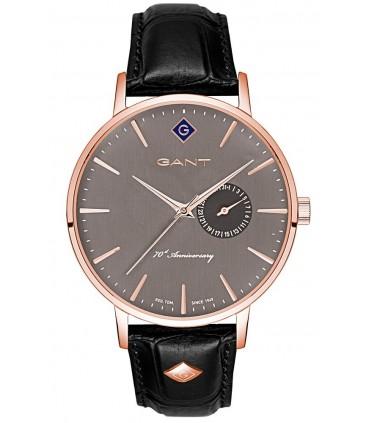 MARC COBLEN Chronograph Black Leather Strap MC50S2